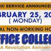 No Office Collection (Edsa Revolution Anniversary)