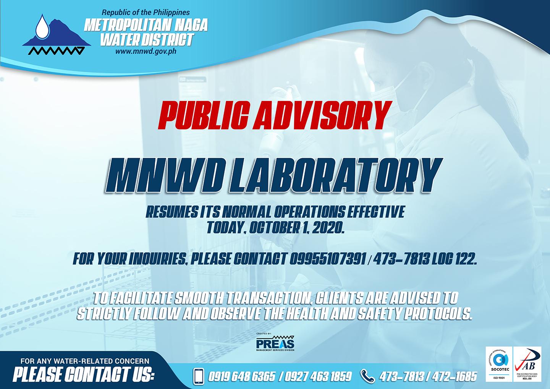 Laboratory-Public-Advisory